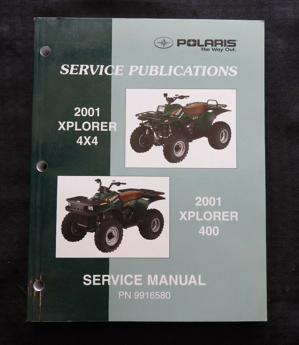 2001 Polaris Atv Xplorer 400 4x4 Service Repair Manual Ebay 300 Wiring Diagram