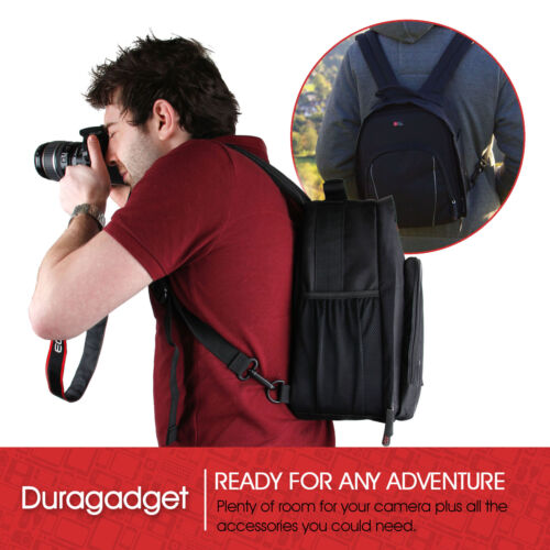Adjustable Rucksack With Raincover for Nikon Coolpix A900 /& Coolpix P1000 Camera