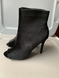 open toe booties size 12