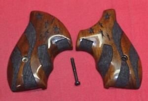 Smith & Wesson J Frame Round Butt Wood Boot Grips