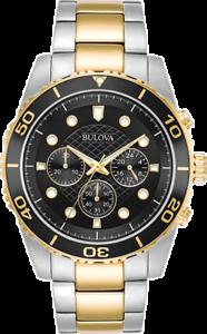 Bulova-Mens-98A171-Quartz-Marine-Star-Chronograph-Black-Dial-Bracelet-43mm-Watch