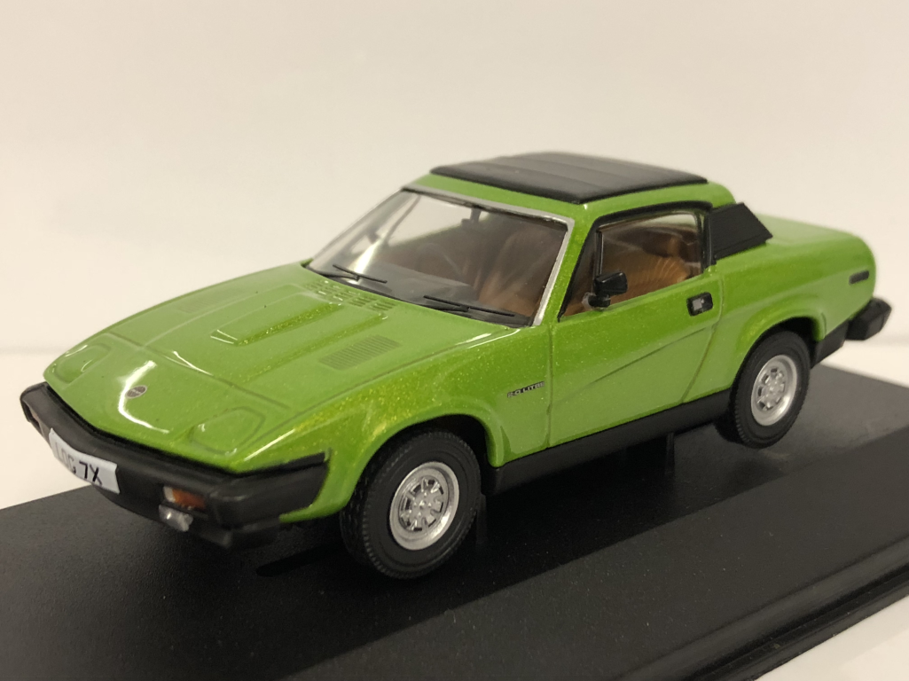 Corgi VA10509 Triumph TR7 Fhc Triton Grün Limitiert Edition 1:43 Maßstab