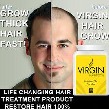 VIRGIN HAIR GROWTH PILLS TABLET THICKER STRONGER HEALTHIER HAIR MAX STRENGTH