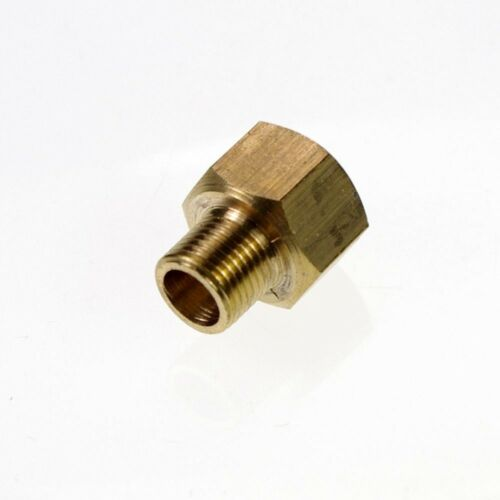 "5PCS Brass 1//4/"" Male x 3//8/"" Female BSPP Adapter Reducer Fitting Connectors"