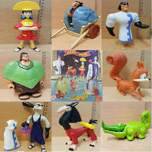 McDonalds-Happy-Meal-Toy-2001-Walt-Disney-Emperors-Groove-Plastic-Toys-Various
