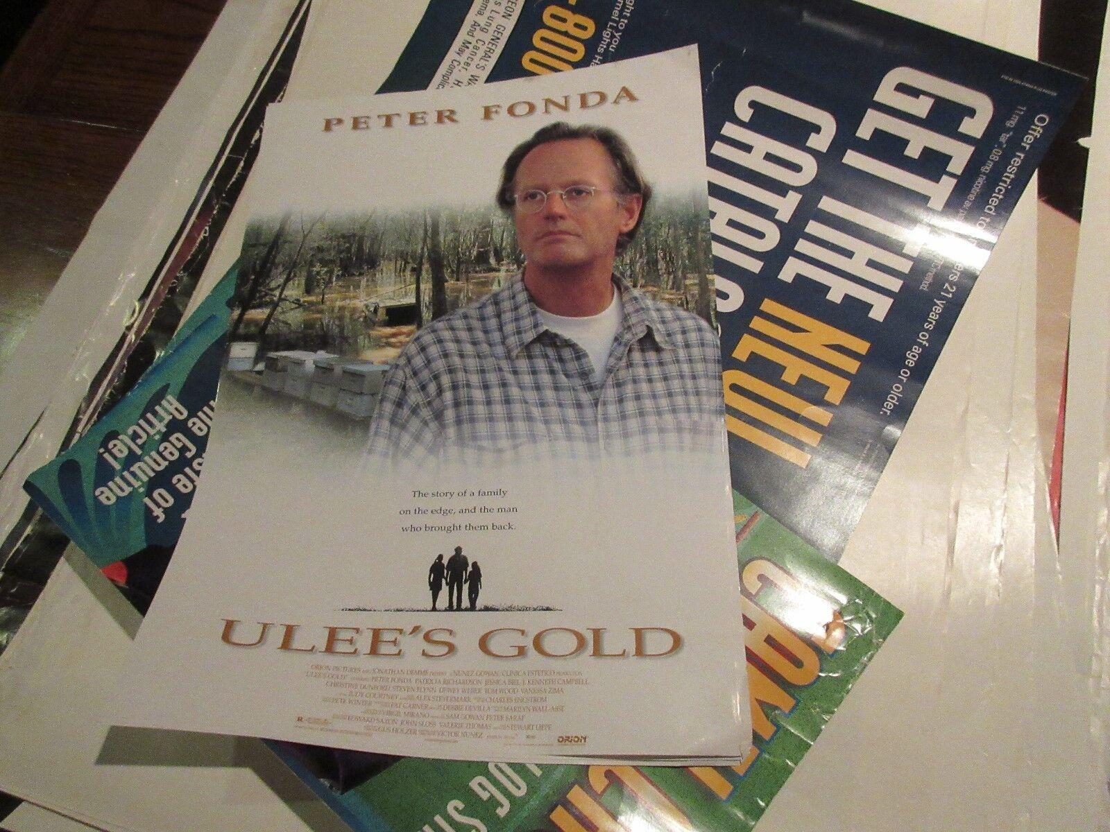 "Ulee's Gold , POSTER , Peter Fonda , 1997 , 13 1/2"" X 1"