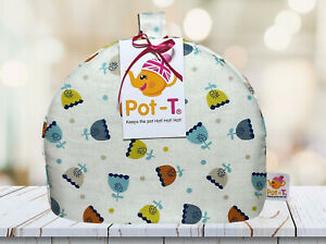 Pot-T-Handmade-in-UK-INSULATED-Mini-Tea-Cosy-1-2-Cup-Pots-Modern-Ditsy
