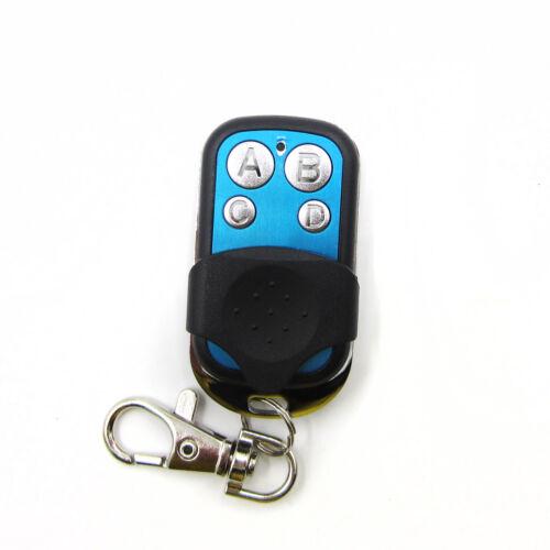 Learning Code RF Remote Control Key 433MHZ Wireless Control Duplicator Copy