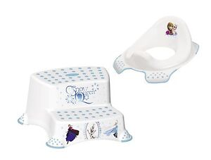 Excellent Details About Disney Ice Queen 2 Z Set Toilet Seat Stool Two Stage Toilet Training Andrewgaddart Wooden Chair Designs For Living Room Andrewgaddartcom
