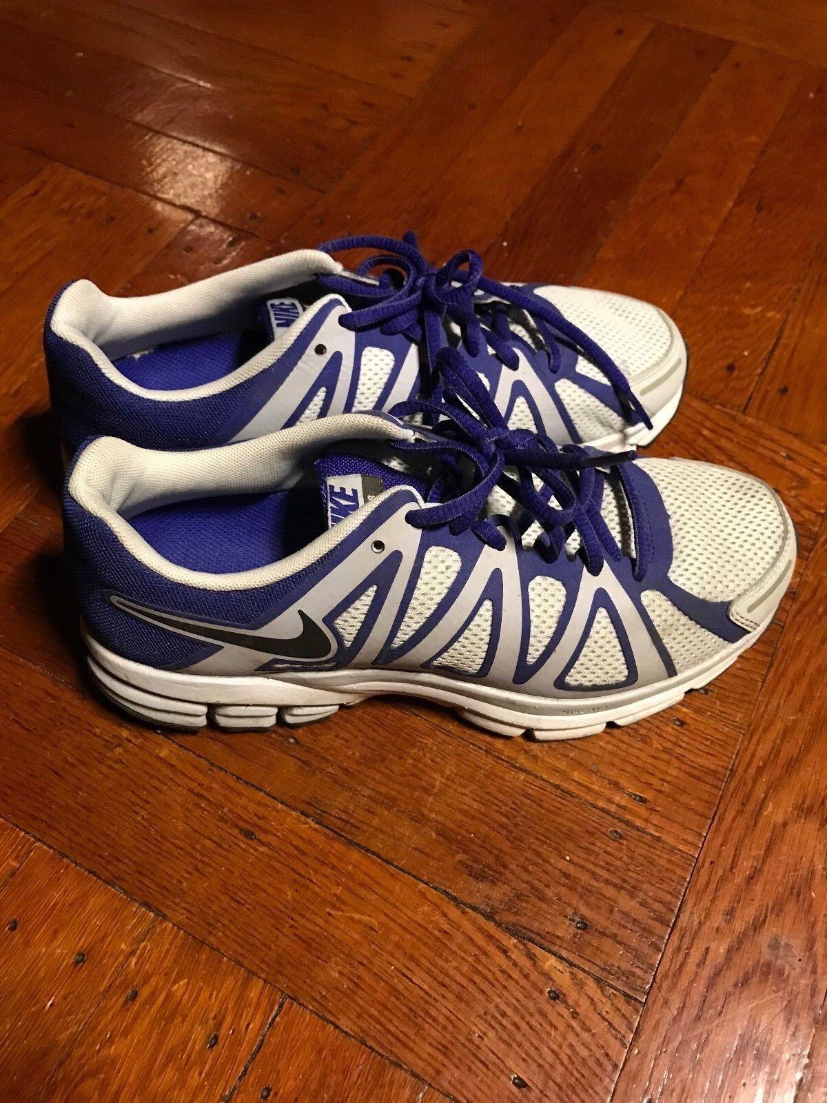 Nike Air Span+ 8 Sneakers - Purple Gray - Women's Comfortable Casual wild