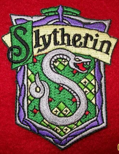 Slytherin Iron On Embroidery Patch Harry Potter 3 Inch Gryffindor Hogwarts ..