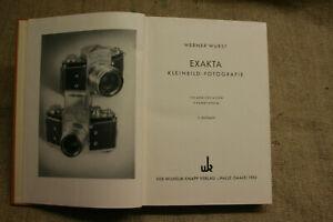 Fachbuch-DDR-Fototechnik-Kameratechnik-Exakta-Kleinbildfotografie-DDR-1953