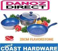Danoz Flavorstone 3 Piece 28cm Cookware Set - Danoz Direct - As Seen On Tv