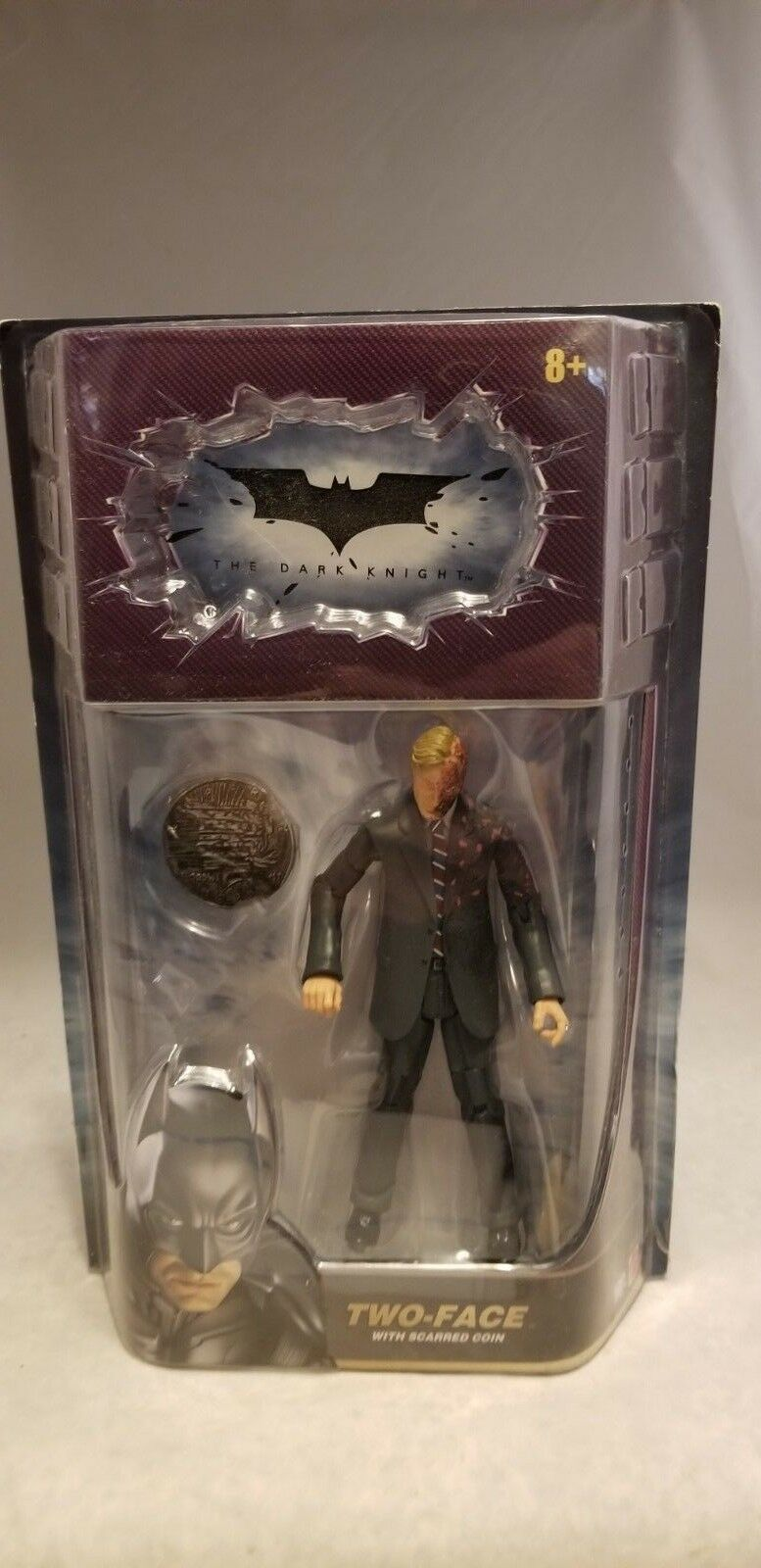 THE DARK KNIGHT 6  TWO FACE FIGURE