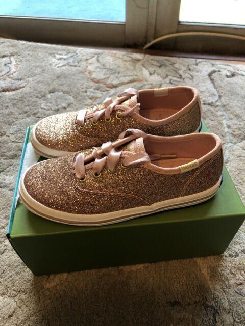 Keds Kate Spade Shoes Toddler Girl Size 10m Gold Glitter