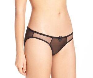 Claudette-Brassiere-Dessous-Mesh-Bikini-Panty-Sexy-Lingerie-Panties-Royal-Black