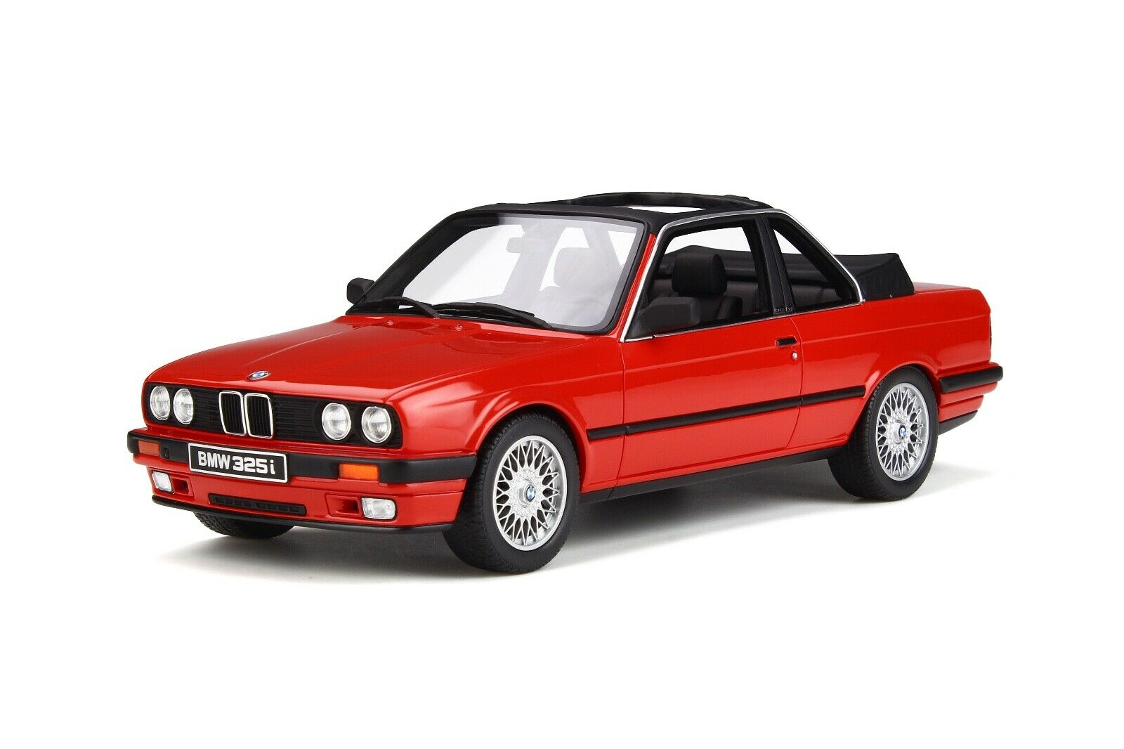 1 18 GT Spirit Otto Mobile  BMW 3 Baur Series Convertible E30 1998 in rouge  OT767  jusqu'à 50% de réduction