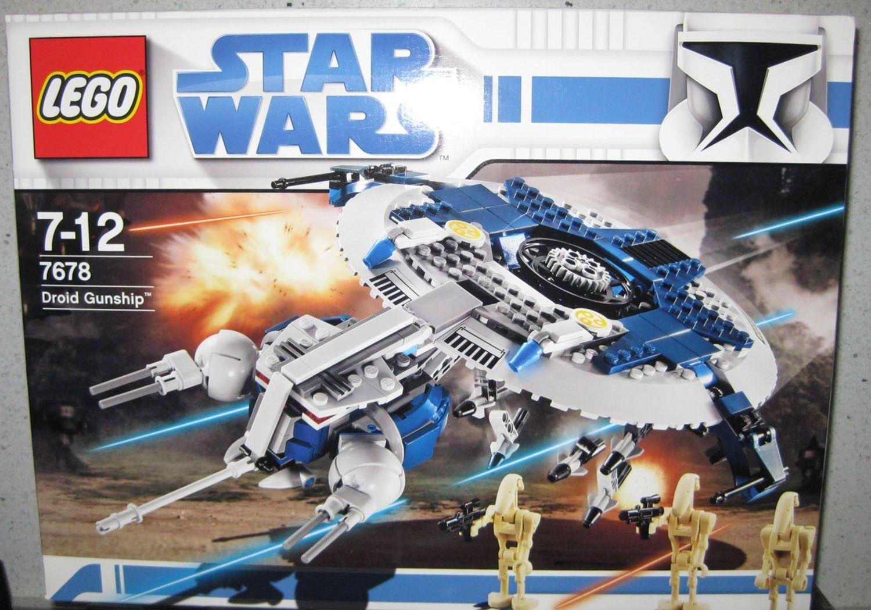LEGO STAR WARS DROID GUNSHIP 7678  DATED 2008 NRFB