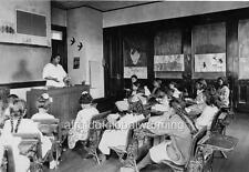 "Photo 1920 New York ""Indian Reservation School Children Hot Lunch Program"""