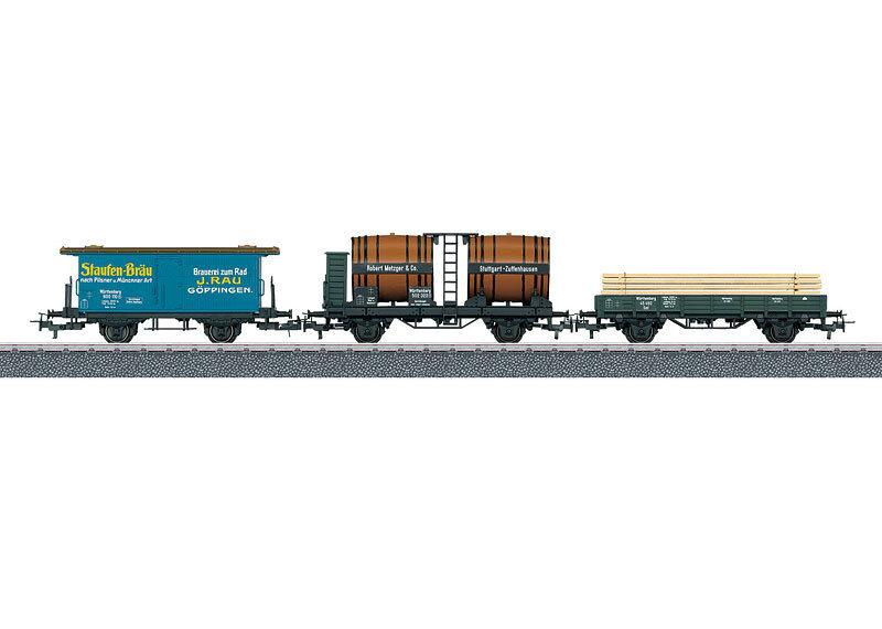 44140 carri merci-Set K.W. ST. E., Nuovo/Scatola Originale