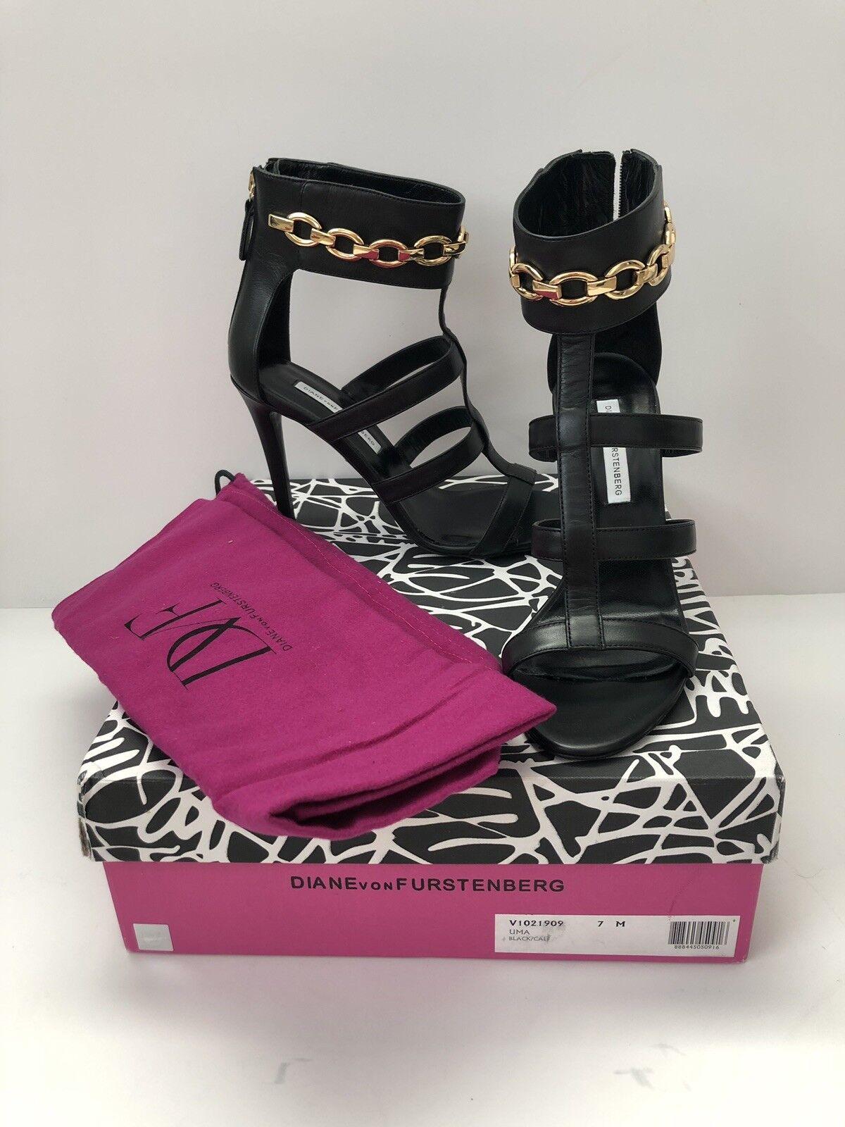NEW Diane von Furstenberg Uma heels sz 7    325 92a1bd