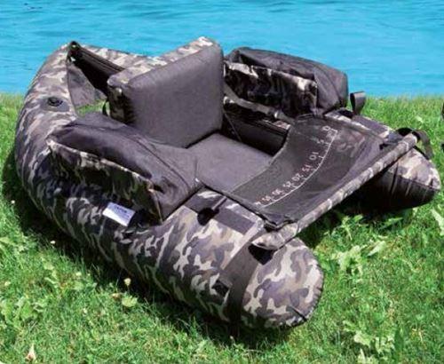 Lineaeffe Belly Boat Camou inkl. Tasche und Pumpe