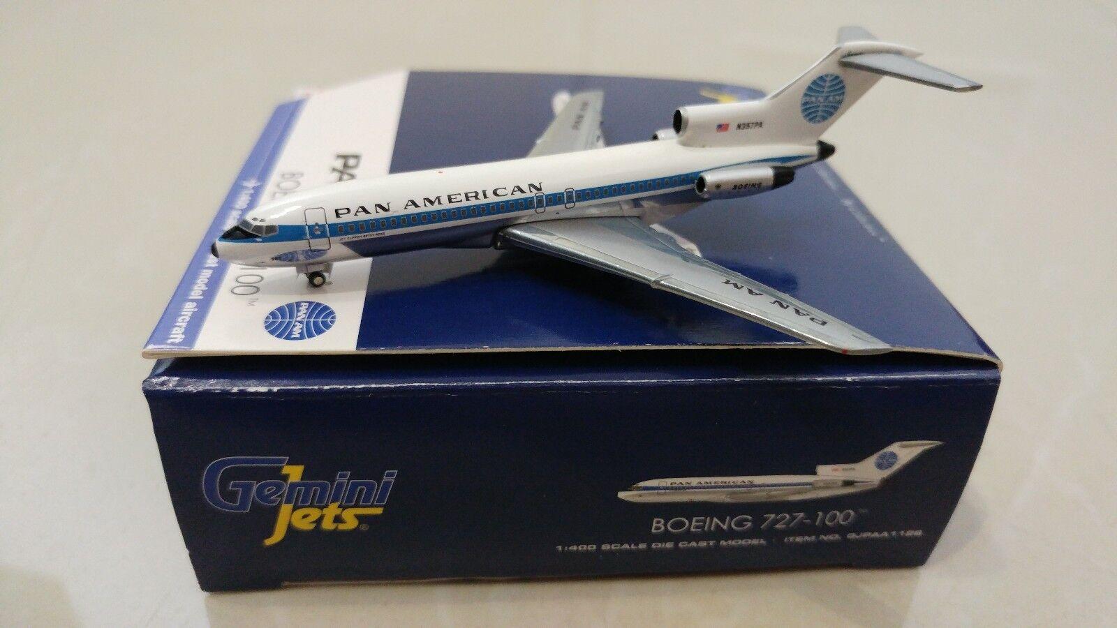 Gemini - jets 1 400 panam - boeing 727-100 n357pa gjpaa1126