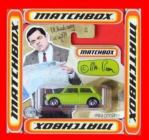 MATCHBOX-2020-MINI-COOPER-Mr-BEAN-30-100-NEU-amp-OVP