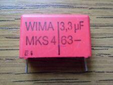 WIMA MKS4 3,3µF 63V Kondensator RM22,5 *Neu* *2 Stück*