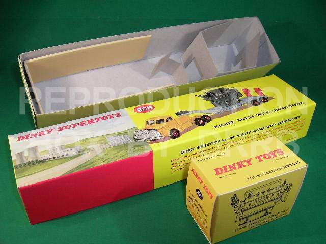 Dinky Mighty Antar with Transformer - Reproduction Box by DRRB