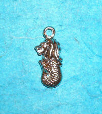 Pendant Mermaid Charm Merlion Charm Chinese Fairytale Charm Fountain Charm Sea