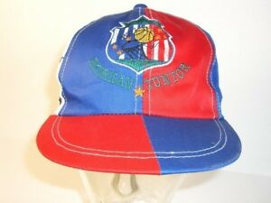 52 American Junior Rot Weiß Blau Echt Vintage Freigabepreis Hüte & Kopfbedeckungen Zielsetzung Mütze Cap Basecap Kappe Gr Antiquitäten & Kunst