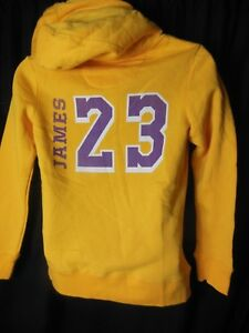 Los Angekles Lakers Lebron  23 Women s Fanatics Hooded Pullover ... 6a8cf79de1