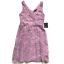 NWT-Marina-Embroidered-Lace-Dress-Womens-4-Sleeveless-Lilac-Fit-amp-Flare-Purple thumbnail 2