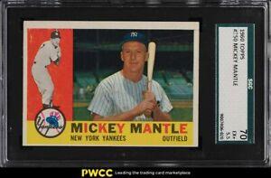 1960-Topps-Mickey-Mantle-350-SGC-5-5-EX