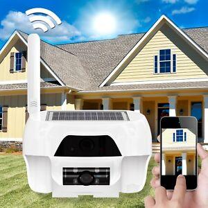 hd ip kamera mit solar panel wlan wifi akku. Black Bedroom Furniture Sets. Home Design Ideas