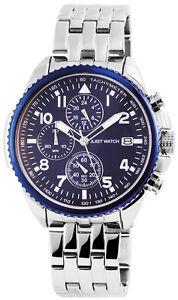 Armband- & Taschenuhren Uhren & Schmuck Just Watches Xl Quarz Herren-armbanduhr Modellreihe Jw7546 Edelstahl Armband