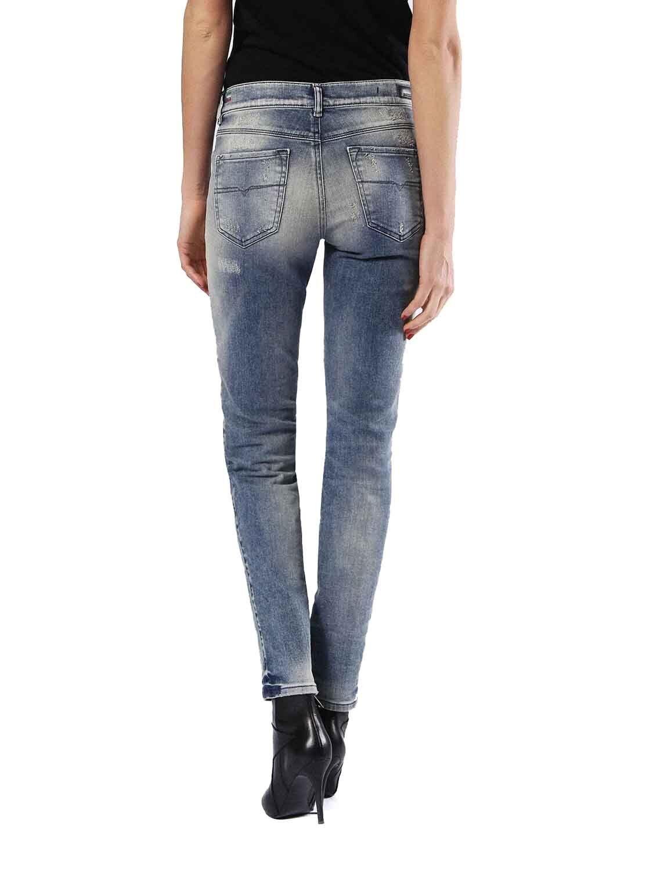 Diesel Sandy 0830J Stretch Damen Jeans Jeans Jeans Hose Slim Straight 4f4a8f