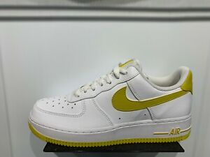 7y nike air force 1 citron white