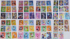 Sailor Moon Crystal Carddass Complete Regular Card SET of 40 Taiwan Popup Store