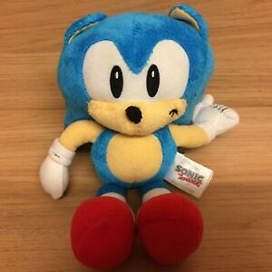 Tomy-Sonic-the-Hedgehog-Small-8-034-Plush-Soft-Toy
