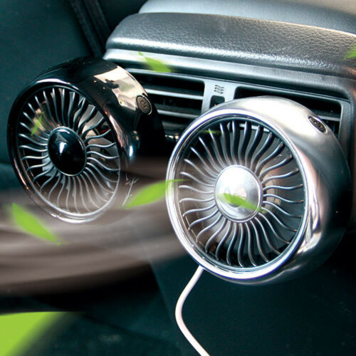 Auto LKW Home Sommerkühlung Elektrischer Lüfter Clip-On Lüfter 3-Gang 5V