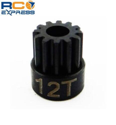 Hot Racing 12t 0.5 Mod Hardened Steel Pinion Gear 1//8 Bore CSG12M05