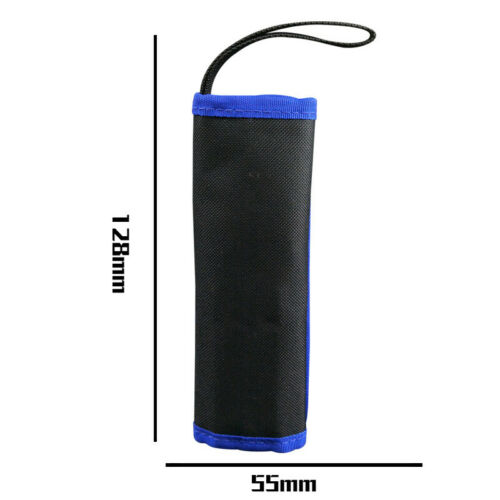9PCS Anti Static Tweezers Precision Tool Set Bag Repair Electronics Mobile Phone