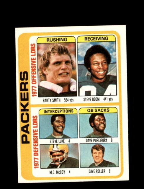 1978 Topps #510 Green Bay Packers Leaders NM