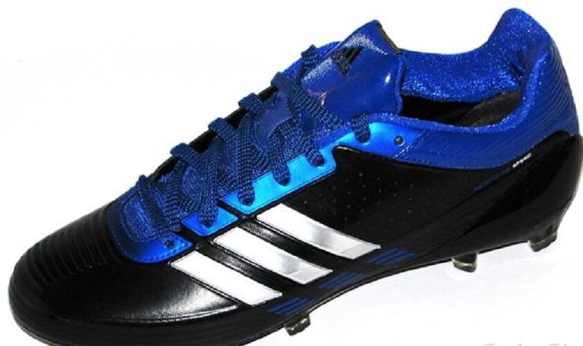 New men Adidas Response Speed low football cleats fly Royal Black Molded Size 13