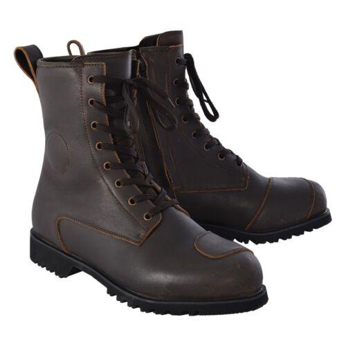 Oxford Merton Mens Waterproof Leather Boots US Mens Size 8.5 Black BM12142