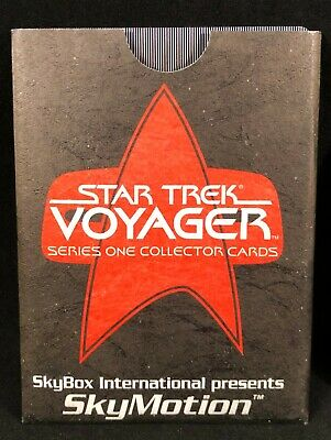 STAR TREK VOYAGER SSN 1 SER 2 1995 SKYBOX SKYMOTION Promo CARD ORIGINAL SLEEVE