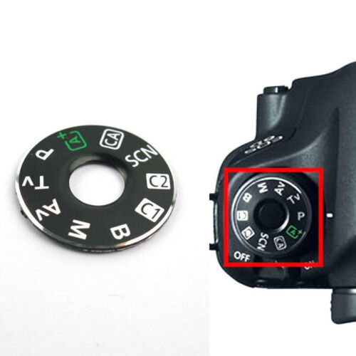 Plate Dial Mode Interface Cap Camera Kit For Canon EOS 6D Durable Useful