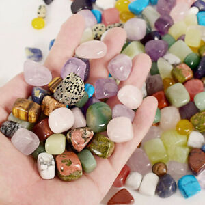 50G-Natural-Palm-stones-Tumbled-stone-Crystal-Reiki-Quartz-Healing-Chakra